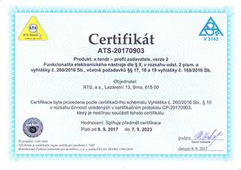 internetový profil profil služby